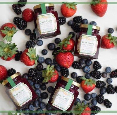 【Sugar-free】無糖雜莓果醬 Mixed Berries Jam