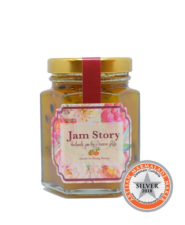 【2018 得獎果醬】熱情果香橙橙花果醬 Passionfruit Orange Neroli Jam