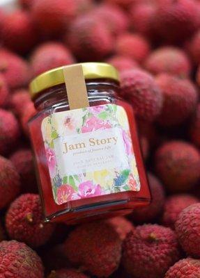 荔枝紅莓奇亞籽玫瑰果醬 Lychee Raspberry Chia Seeds Rose Jam