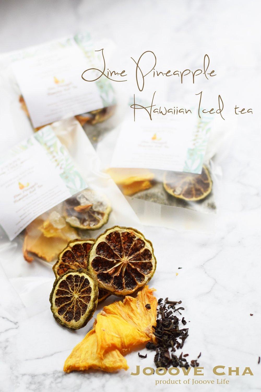 青檸菠蘿夏威夷冰茶 Lime Pineapple Hawaiian Iced Tea