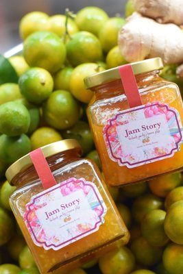 本地有機四季桔老薑蜂蜜茶 Local Organic Kumquat Ginger Honey Tea (280g)