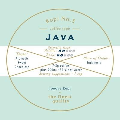 Kopi No. 3 - Java