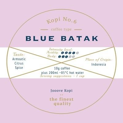 [SOLD OUT] Kopi No.6 - Blue Batak