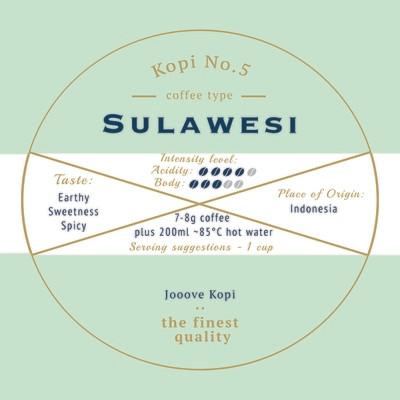 [SOLD OUT] Kopi No.5 - Sulawesi