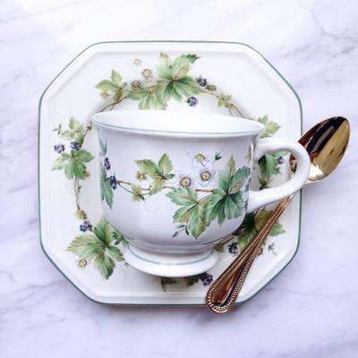 (Sold) 日本咖啡杯連碟及羹