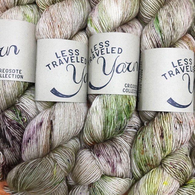 Less Traveled Yarn Fingering Single Barrel Aged