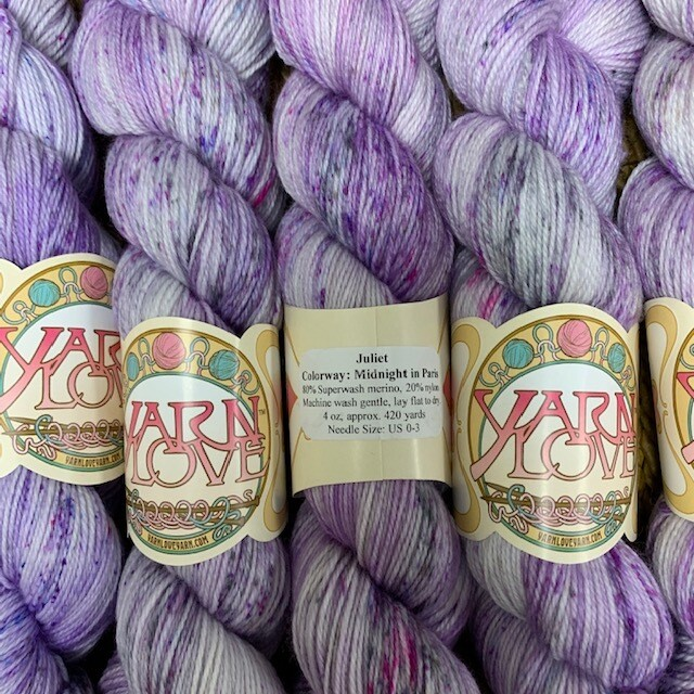 Yarn Love Juliet  Fingering Midnight in Paris
