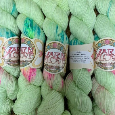 Yarn Love Juliet  Fingering Vespa