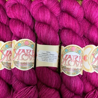 Yarn Love Juliet  Fingering Pizzazz