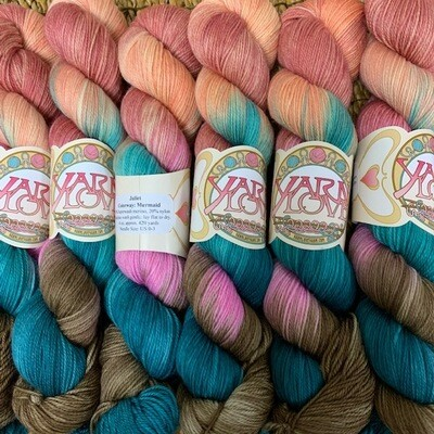 Yarn Love Juliet  Fingering Mermaid