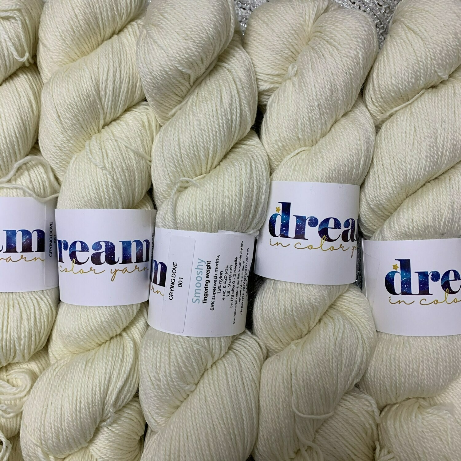 Dream in Color  Yarn Crying Dove  smooshy sock