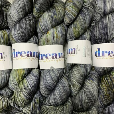 Dream in Color  Yarn Blurry-Eyed smooshy sock