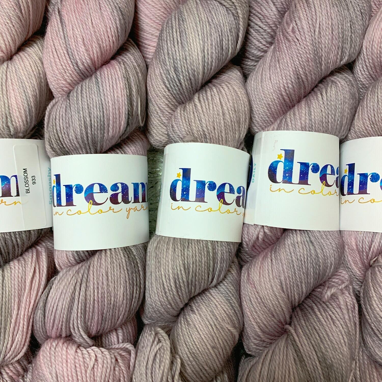 Dream in Color  Yarn Blossom  smooshy sock