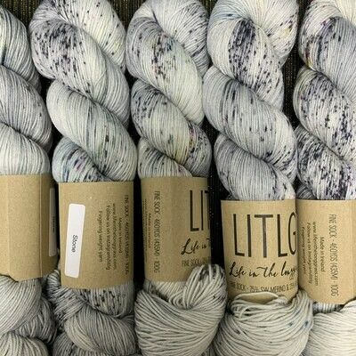 LITLG sock yarn Stone