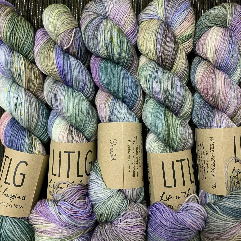 LITLG sock yarn Shield