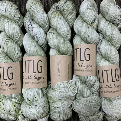 LITLG sock yarn Beachgrass