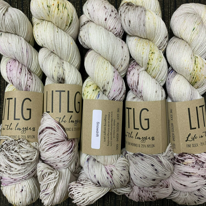 LITLG sock yarn Snowdrift