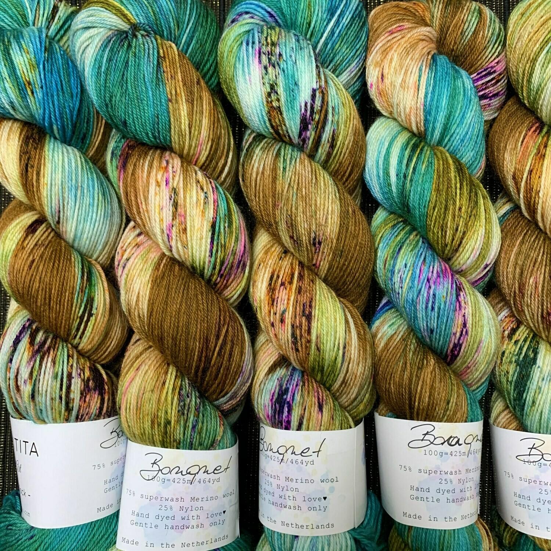 Uschitita Sock Yarn Bonquet