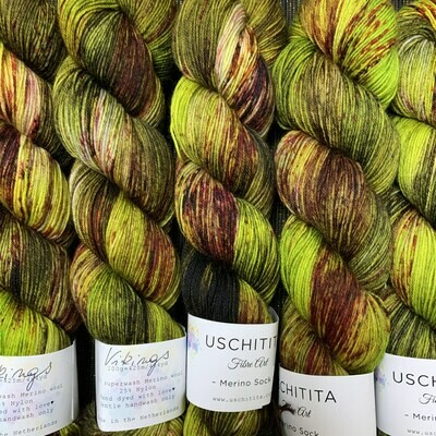 Uschitita Sock Yarn Vikings