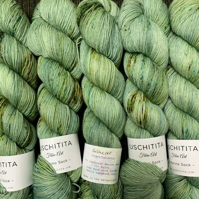 Uschitita Sock Yarn Glacier
