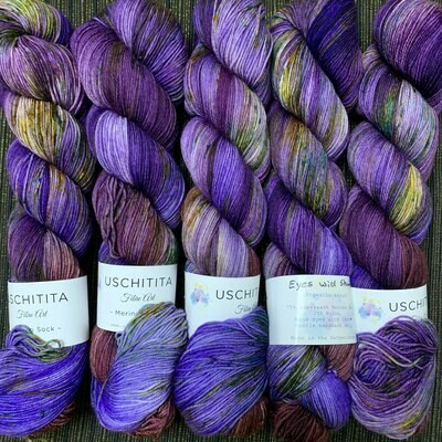 Uschitita Sock Yarn  Eyes wide shut