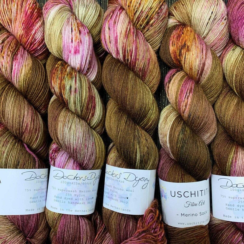 Uschitita Sock Yarn Doctor Dyery