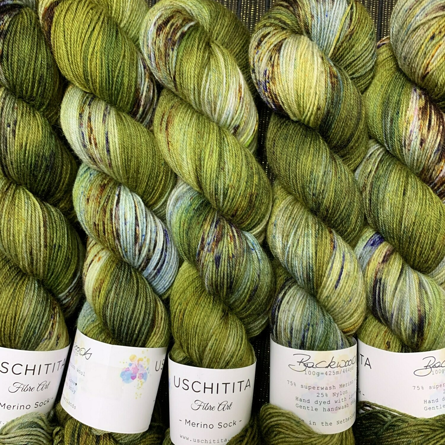 Uschitita Sock Yarn Backwoods