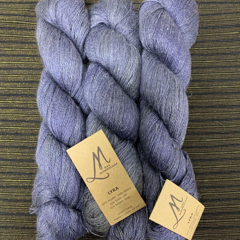 💜 Das Mondschaf  Deluxe Lyra  Lace Grey blue