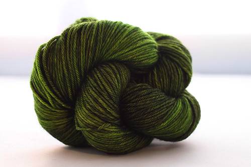 Dream in Color Smooshy Cashmere Blend Sock VC029 Emerald Darkness