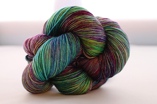 Dream in Color Smooshy Cashmere Blend Sock VC515 Mermaid Shoes