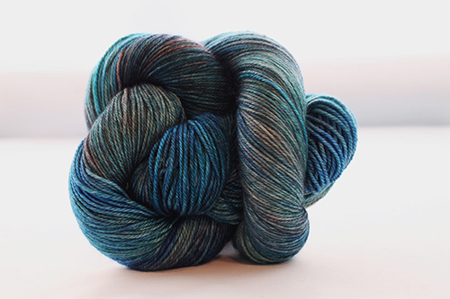 Dream in Color Smooshy Cashmere Blend Sock VC506 Slippery Trail