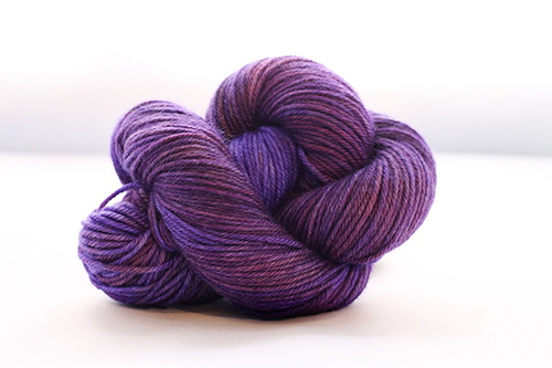 Dream in Color Smooshy Cashmere Blend Sock VC180 Visual Purple