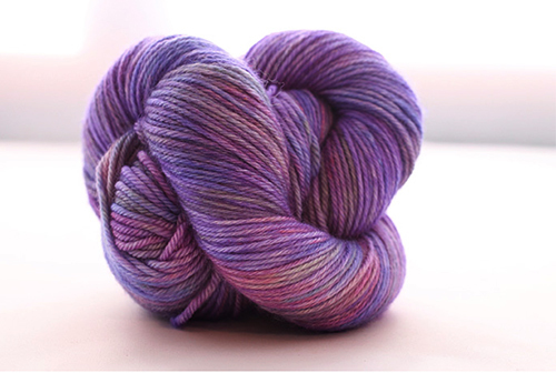 Dream in Color Smooshy Cashmere Blend Sock VC450 Pansy Golightly