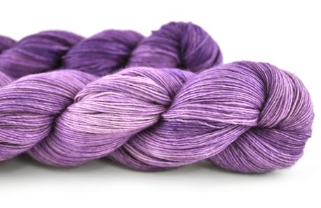 Malabrigo Hand dye Lace Yarn Cuarzo #97