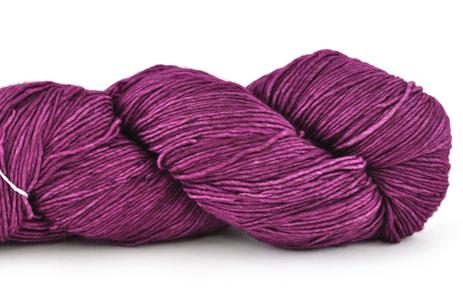 Malabrigo Hand dye Mechita Holly Hock #148