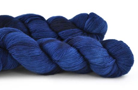 Malabrigo Hand dye Lace Yarn Buscando Azul #186