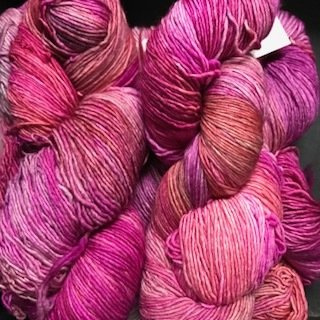 Malabrigo Hand dye Mechita Yarn English Rose #57*