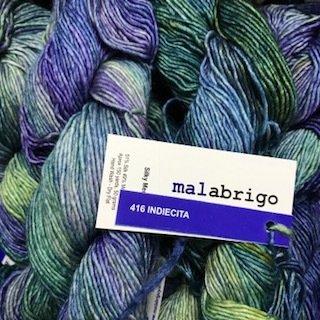 Malabrigo Silky Merino Indiecita #SM416