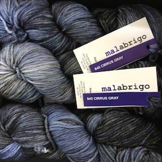 Malabrigo Rios Cirrus Gray  #845