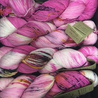 Das Mondschaf Sock Yarn Childlike Empress Sparkling