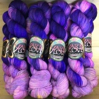 Yarn Love Goldilocks Fingering Lilac Riot