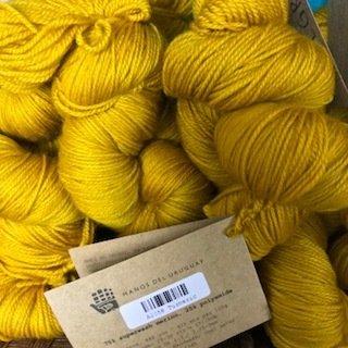 Manos Alegria Sock Yarn Turmeric A2058