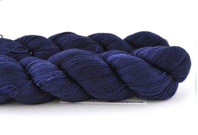 Malabrigo Hand dye Lace Yarn Marine #62