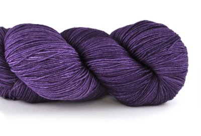 Malabrigo Sock Hand dye  Yarn Violeta Africana #808