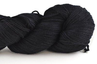 Malabrigo Sock Hand dye Yarn Black #195