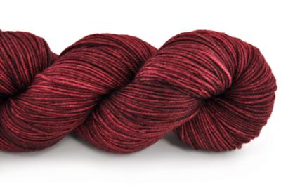 Malabrigo Sock Hand dye  Yarn Tiziano Red #800