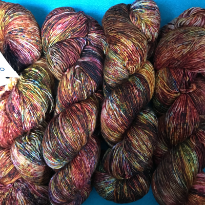 Malabrigo Mechita yarn Paprika #666