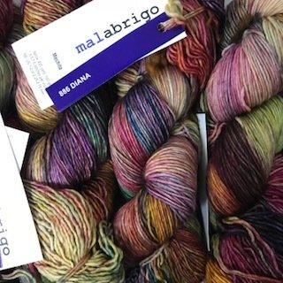 Malabrigo Hand dye Mechita Yarn Diana #886