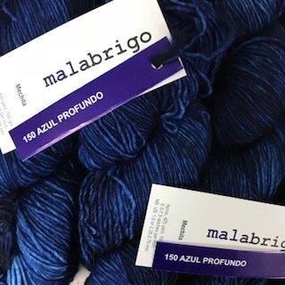 Malabrigo Hand dye Mechita Yarn Azul Profundo #150