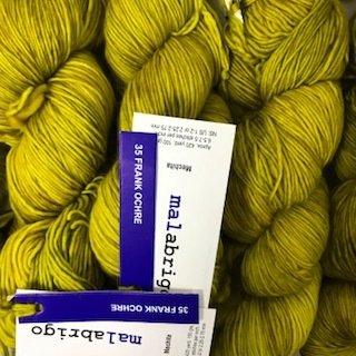 Malabrigo Hand dye Mechita Frank Ochre #35